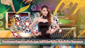 Keuntungan bergabung dengan agen resmi poker online