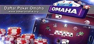 Daftar Poker Omaha